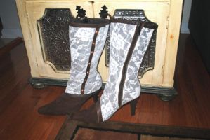 Victorian Boots by pinochioO-5