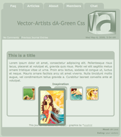 Vector-Artists dA-green by vector-artists