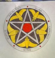 Pentacle heraldique by Diie-For-You
