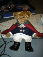 Teddy Revolutionary War Suit by thedollmaker