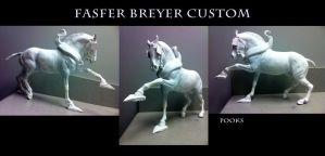 Fasfer custom breyer WIP 4 by pookyhorse