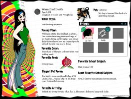 MH: Winnifred's Profile by Saruseptember