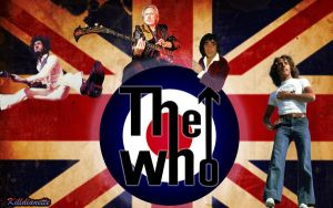 Wallpaper the Who by killddianette