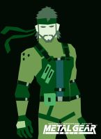 Solid Snake by LPCD