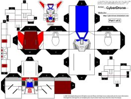 Cubee - Jetfire '1of2' by CyberDrone