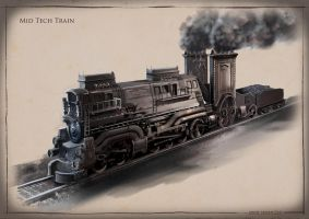 La Revolution 1625 Steam Train by dsorokin755