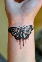 Moth Tattoo by autopirate