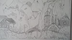 welcome to Rivendell by Aya4321