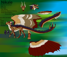 Nikale ref by metal-beak