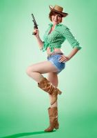 Pin-up cowgirl by Thalee1982