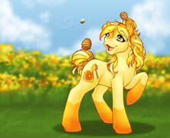 Honey Field's Bestest Friend by ClemiKinkajou