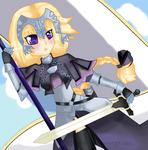 FA | Jeanne d'arc by KnifeLynx