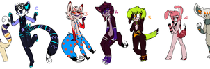 Paypal Adoptables by PRINCESS-CHEZ