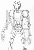 March of Robots #6: Energy Bot by ConstantM0tion
