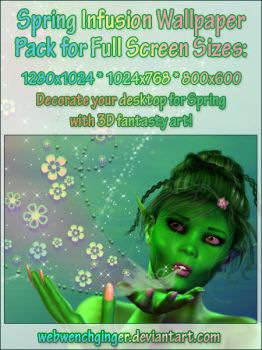 Spring Infusion WP pack by webwenchginger