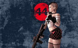 Punk, tank and science fiction by Gait44