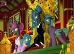 An Imperial Changeling family by Jowybean
