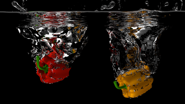 Peppers on the water by thiagofelix