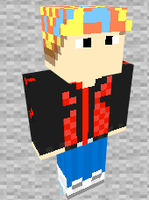 Marty McFly 2015 Minecraft Skin Preview by THATANIMATEDGUY