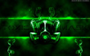 Wallpaper Toxic Mask HD 1920x1200 by DShepe