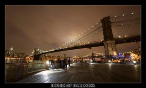 Brooklyn Bridge by Hoursofdarkness