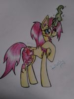 Me?- Lovely by Rainbow-Note
