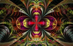 To fractal paradise by androceus