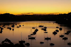 Boats at Beauty Point by Arc-photography