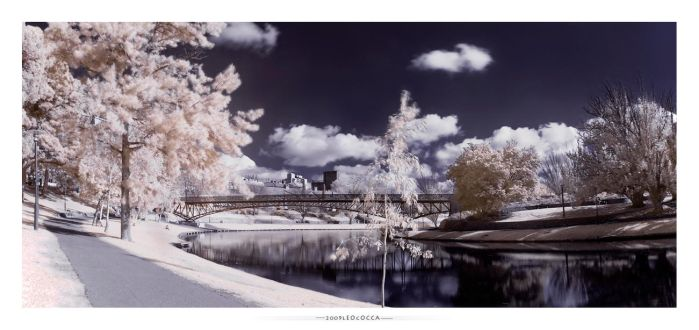 Snow on the torrens by subaqua