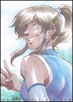 Smile, Avatar Korra! by aimo