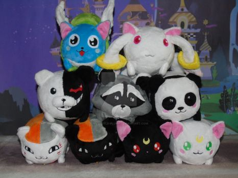 Anime Tsum-Tsum Plush by My-Little-Plush