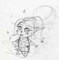 Daily Sketch - Chibi Yourself by Starrydance