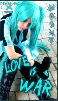 Hatsune Miku - Love is War by psychedelicXmoon