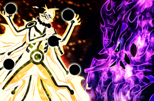 Naruto 670 - Power Ashura by X7Rust