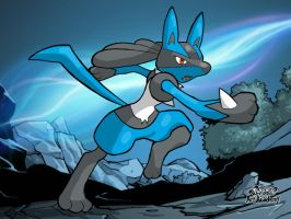 Lucario by ThomasandStanley