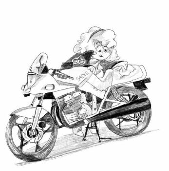 Sadie's Bike by Flutter-Butter