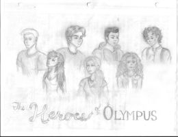 The Heroes of Olympus by Larry-and-Lazel
