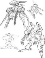 Flea War Concepts 04 by thomastapir