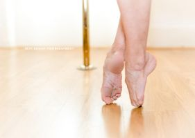 Dancer's feet: pointes by Dust-Dragon