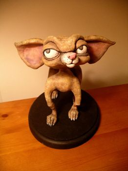 Bosley Painted Maquette by cre8anim8