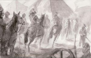 sketchl Napoleon in Egypt by neisbeis