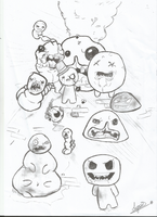 Binding of Isaac by Epistol