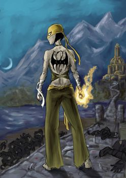 Iron Fist by QueenAravis