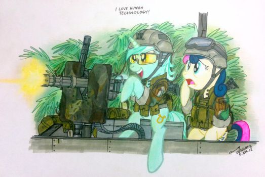 Lyra and the Wonders of Human Technology by buckweiser