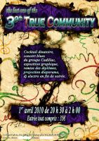 Affiche True Commnuity 2 by etiark