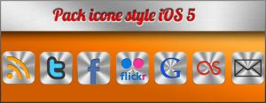 ICONE style iOS 5 by remif