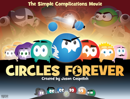 CIRCLES FOREVER (Retired Title Card) by simpleCOMICS