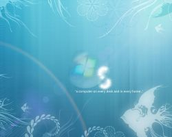 Windows New Wallpaper by fnxrak