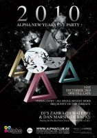 Alpha Club New Years Eve Flyer by ujie