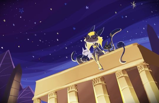 Bastet by inkinesss